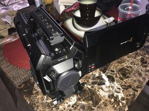 Black magic design ursa 4K digital video camera no lens for Sale in Norcross, GA