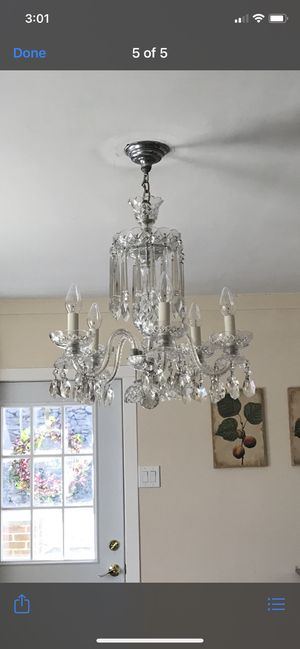 Crystal Chandelier for Sale in Scarsdale, NY