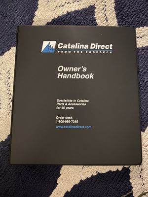 Catalina 22 sailboat Owners Manual for Sale in Redondo Beach, CA