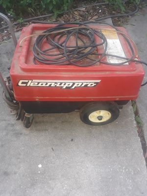 Cleanup Pro Machine for sale heavy duty pressure washer for Sale in Wahneta, FL