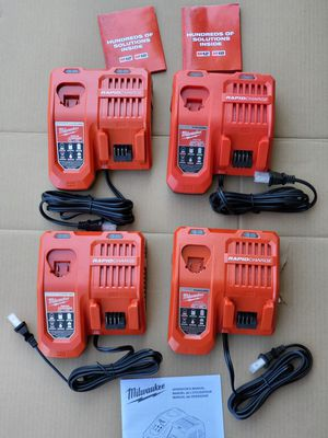 MILWAUKEE M18 M12 RAPID CHARGER $50 EACH for Sale in Los Angeles, CA