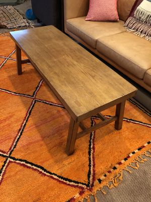 Pottery Barn Coffee Table / Bench for Sale in Seattle, WA