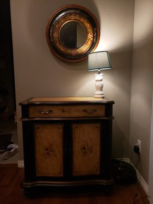 Console table and mirror for Sale in Aurora, CO