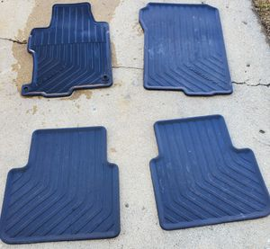 Honda Accord 4dr All Weather Floor Mats 2013, 2014,2015,2016,2017 for Sale in Glendale Heights, IL