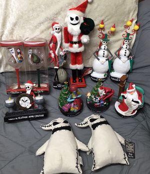 Nightmare Before Christmas decor figures toys for Sale in Warren, MI