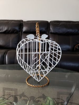 Set of Bird Cage Decor and Candles Holders for Sale in Lomita, CA