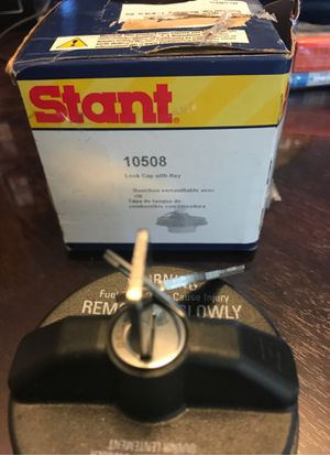 gas cap locking with (2) keys Stant brand part 10508 for Sale in MENTOR ON THE, OH