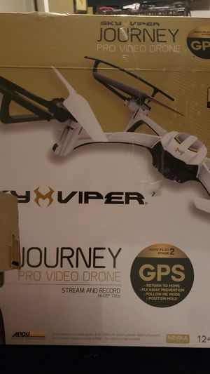 2 sky viper journey GPS drones for Sale in Somerset, TX