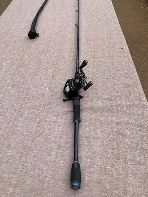 Lews TPX 1HA reel and Phenix fishing rod combo for Sale in Riverside, CA