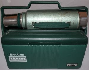 Vintage Stanley Aladdin Cooler and Thermos for Sale in Richmond, VA