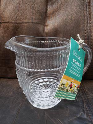 The Pioneer Woman Creamer Glass 11oz Nwt for Sale in Lemon Grove, CA