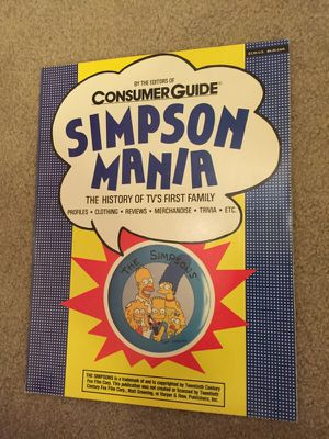 Simpson mania book for Sale in Tacoma, WA