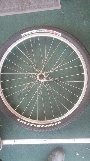 Inflated specialized quick release front tire and rim. for Sale in Seattle, WA