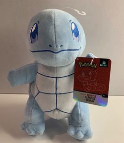 """2020 Pokemon Select Shiny Squirtle Plush Wicked CoolToys 8"""" Rare HTF 💧 for Sale in Long Beach,  CA"""