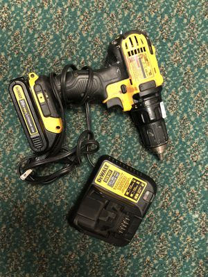 Drill, Tools-Power Dewalt W/Battery & Charger.. Negotiable for Sale in Baltimore, MD