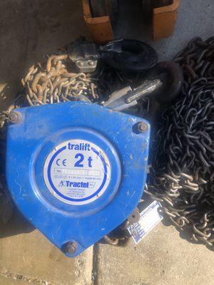 Tralift 2 ton hoist for Sale in City of Industry, CA