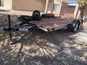 2017 heavy duty car hauler 7x16 for Sale in El Mirage, AZ