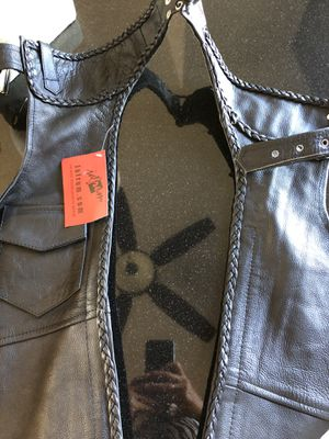 Leather XS brand new chopper $110 only real leather for Sale in Kailua-Kona, HI