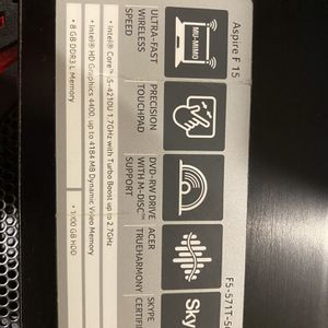 Acer Laptop for Sale in Charlotte, NC