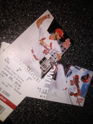 Two card tickets tonight game for Sale in Pacific, MO