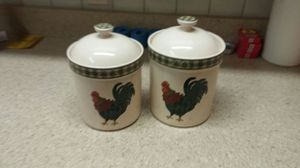 Ceramic cookie jars/storage containers for Sale in Tampa, FL