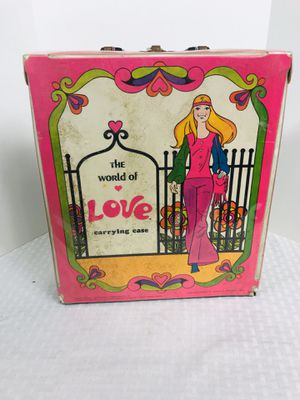 Vintage 1971 Mattel Barbie World of Fashion Carrying Case for Sale in Pawtucket, RI