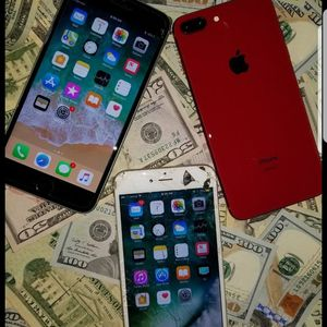 Cash Red iPhone 8 Plus 64gb any sim works for Sale in Baltimore, MD