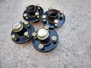New trailer hubs with new bearings and studs for Sale in Garden Grove, CA