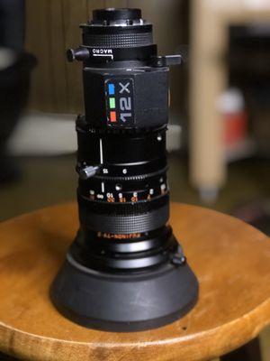 Fujinon B4 (2/3) 9mm-108mm at F1.7 for Sale in Chicago, IL