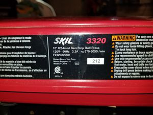 Skil bench drill press for Sale in Port St. Lucie, FL