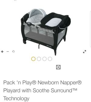 Graco pack n play newborn napper for Sale in Rancho Cucamonga, CA