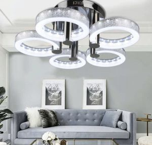 Modern LED Acrylic Chandeliers Flush Mount Ceiling Light Living Room Study Lamp (RB) for Sale in Ontario, CA