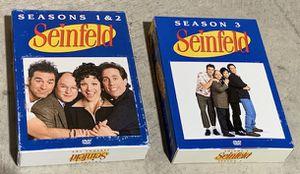 SEINFELD DVD SET SEASONS 1-9 COMPLETE $35 for Sale in Allen, TX