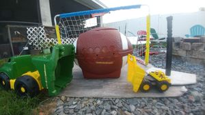 Sports Toys and football toy box for Sale in Bartow, FL