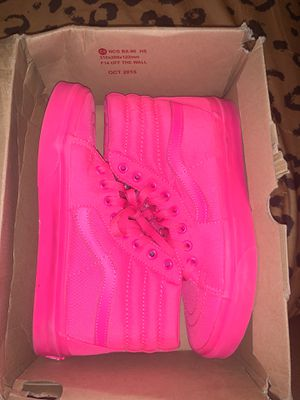 Vans Neon Pink for Sale in Capitol Heights, MD