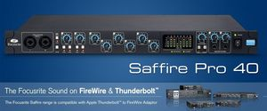Focusrite Saffire Pro 40 Audio Recording Interface for Sale in Boston, MA