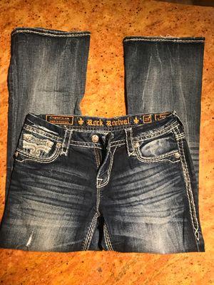 Women's rock revival jeans for Sale in Lake Stevens, WA