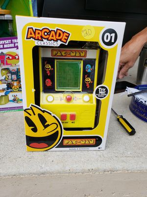 Pac man hand held game for Sale in Frostproof, FL