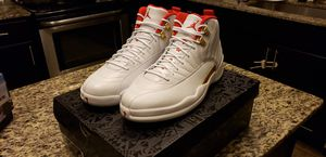 100% AUTHENTIC AIR JORDAN RETRO 12 FIBA SIZE 11.5 for Sale in Lawrenceville, GA