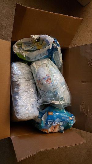Diaper lot size 5/6 for Sale in Bellevue, WA