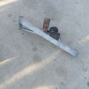 Aluminum post /Stand. For Crane Boat for Sale in Corona, CA