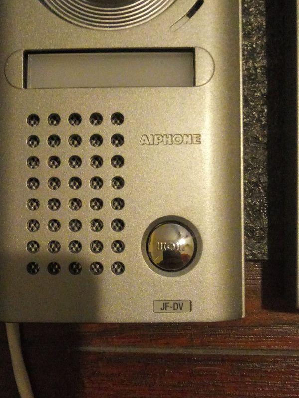 AIPHONE SECURITY ENTRY DOOR INTERCOM CAMERAS