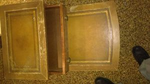 Antique table with wheels and a drawer for Sale in Brooklyn, OH