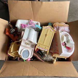 Big Box of Old Barbies Stuff for Sale in Hacienda Heights, CA