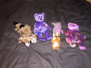 5 beanie babies for sale for Sale in Davenport, FL