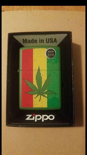 Zippo Lighter: Weed Leaf on Rastafari Flag for Sale in Whittier, CA