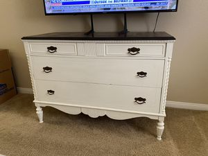 Antique Refurbished Dresser for Sale in Rancho Cucamonga, CA