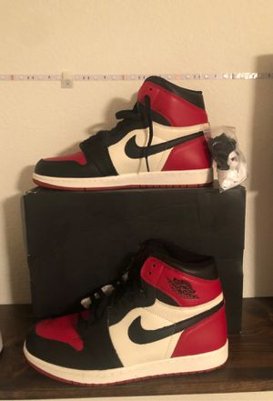 Jordan 1 bred toe for Sale in Denver, CO