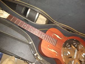 """Gretsch resonator acoustic guitar """"perfect"""" for Sale in The Woodlands, TX"""