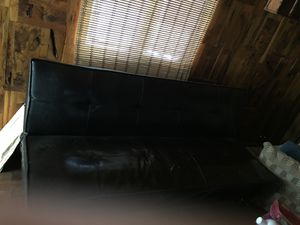 Leather futon for Sale in Big Bear, CA